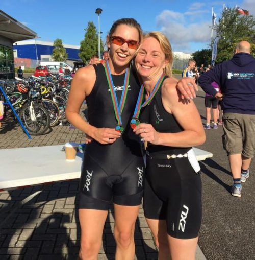 Natasha and Kelly at Go Tri