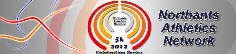 Northants Road Running League banner